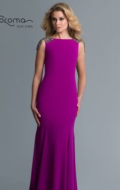 Beaded Long Gown by Saboroma $399.99 Saboroma