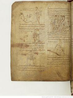 BnF ms. lat. 8318, Recueil factice composé de 4 manuscrits ou fragments de manuscrits différents: I. Arator Subdiaconus, Historia apostolica (f. 3-48). — II. Aurelius Clementis Prudentius, Psychomachia (f. 49-64). — III. Venantius Fortunatus, Carmina (f. 65-71). — IV. Aldhelmus, Carmina ecclesiastica (f. 73-80). -- 800-900, fol. 58v