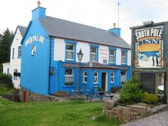 South Pole Inn, Anascaul, County Kerry, Ireland. Tom Crean was an Antarctic explorer with both the Scott and Shackleton expeditions back in the 1910s. When he ertired from the Royal Navy he returned home and opened this pub.