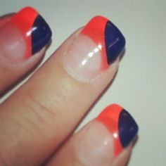 Day 26: Fun Stuff - Having fun with my nails!  Go Broncos!