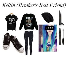 """Kellin (Brother's Best Friend)"" by cameron-noel ❤ liked on Polyvore featuring Converse, Mary Kay, Halogen, Frame Denim, Gucci, women's clothing, women, female, woman and misses"