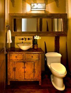 Antique Half Bathroom Designs
