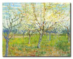 MU_VG2034 t_Van Gogh _ The pink orchard / Cuadro Paisaje, la huerta rosada