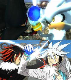 The Shadow / Silver encounter Gijinka style !!