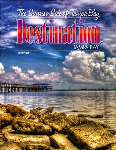 St. Petersburg photographer Gary Arvidson captured this picturesque view of the Safety Harbor Fishing Pier extending out into Old Tampa Bay that he has entitled Safety Harbor Pier Red.