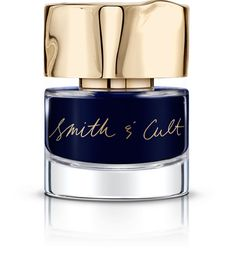 Kings & Thieves from Smith & Cult. Hooooboy, I do like a dark blue polish…