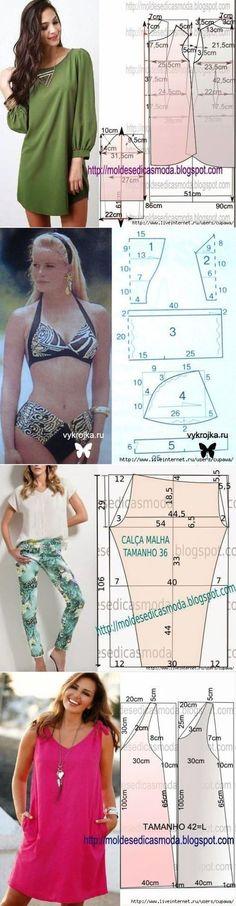 Looks simple to draft. Fashion Details, Diy Fashion, Ideias Fashion, Clothing Patterns, Dress Patterns, Sewing Patterns, Sewing Clothes, Diy Clothes, Robe Diy