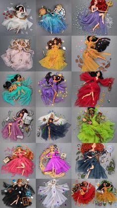 Disney Princess Fashion, Disney Princess Dolls, Disney Princess Frozen, Disney Princess Drawings, Disney Princess Pictures, Disney Drawings, Disney Artwork, Disney Fan Art, Disney Barbie Dolls