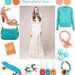 Inspiration : Orange, Corail & Lagon