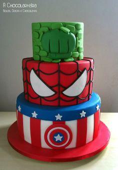 Avengers Birthday Cakes, Hulk Birthday, Superhero Birthday Cake, Superhero Party, 5th Birthday, Birthday Ideas, Pastel Avengers, Bolo Fack, Hulk Cakes