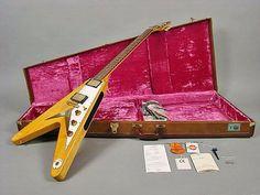 Flying V!! Famous Guitars, Famous Musicians
