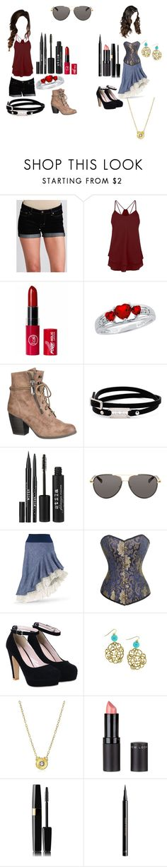 """A Game of Skill C3"" by secretly-a-fangirl ❤ liked on Polyvore featuring Dex, Reeds Jewelers, maurices, McQ by Alexander McQueen, Stila, The Row, Gurhan, New Look, H&M and sarcasm"
