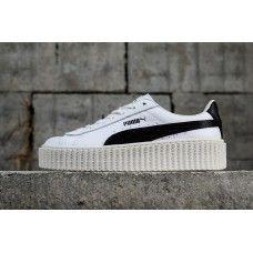 x Puma Suede Creeper Women Shoes White