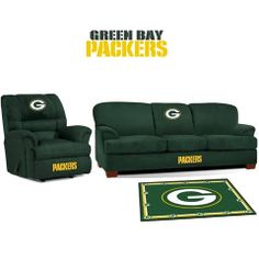 Use this Exclusive coupon code: PINFIVE to receive an additional 5% off the Green Bay Packers Microfiber Furniture Set at SportsFansPlus.com