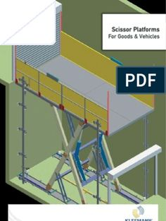 Scissor Platforms For Goods & Vehicles Garage Lift, Presentation Slides, Scissors, Platforms, Vehicles, Bicycle Kick, Vehicle