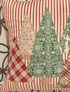 Christmas Tree Pillow Cover Trees Pillow Cover Farmhouse