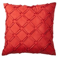 Looking for some texture? Add a fun pillow! #Target #home