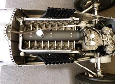 All sizes | 1936 Auto Union Type C - V16, 6.0 Litre Supercharged Engine | Flickr - Photo Sharing!