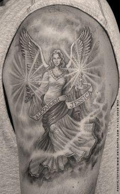 Guardian Angels Tattoos