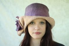 hat by Adorn felt finery by Samantha Goodburn
