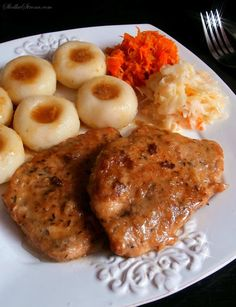 Polish Recipes, Polish Food, Healthy Dishes, Tandoori Chicken, Mashed Potatoes, Lunch Box, Food And Drink, Dinner Recipes, Menu