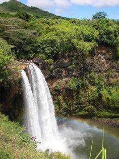 Kauai, Hawaii Kauai Hawaii, Waterfall, Usa, Outdoor, North America, Outdoors, Waterfalls, Outdoor Games, Rain