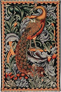 The Forest - Peacock Tapestry - William Morris