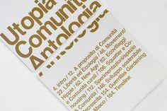 Utopia e comunità by ARTIVA DESIGN , via Behance