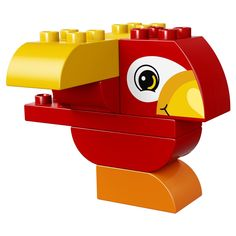 LEGO 10852 My First Parrot instructions displayed page by page to help you build this amazing LEGO Duplo set Lego Duplo Sets, Colorful Parrots, Colorful Birds, Lego Construction, All Lego, Lego Worlds, Bird Crafts, Lego Parts, Cute Birds