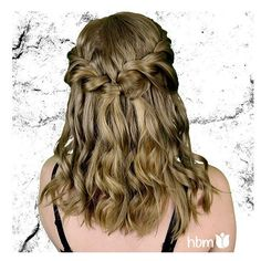#shorthair don't care  Don't worry about giving your hair a #chop! You can still do #cute #hairstyles like this one on @sarahdandelion.  Loosely twisted #ropebraids with #curls give an #ethereal look and work well to disguise #dirtyhair too!  #hairwin #shorthair #beautifulhair #hairstyles #hairbymel #hairpin #blondecurls #blonde #shorthairdo