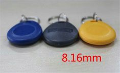 (^^Free samples^^)Wholesale High Quality Contactless Smart RFID NCF Tags Cards Access Control Card Smart ID Token ABS Material 50PCS C07C