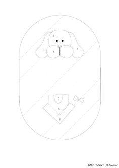 Детские кошельки с изображением животных. Шьем сами. Выкройки (2) (487x690, 40Kb) Sewing Appliques, Applique Patterns, Applique Quilts, Embroidery Applique, Sewing Patterns, Japanese Patchwork, Patchwork Bags, Quilted Bag, Dog Quilts