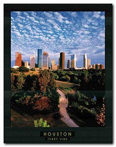 Houston City in Texas Wall Décor Art Print Poster (22x28)... https://www.amazon.com/dp/B01M10DSWX/ref=cm_sw_r_pi_dp_x_hltRybR1QPHMG