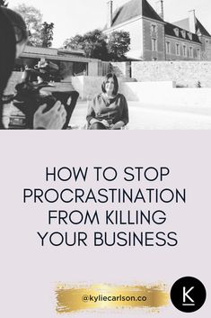 Struggling with procrastination? Is perfectionism slowing you down in your creative business? In this video, Kylie shares her own personal experience and inspiration tips on how to stop procrastinating and get more productive right now!