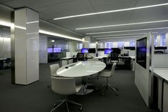 Consolidated Carpet Corporate Office Install featuring @Tandus Centiva Bella Woven Carpet