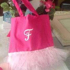 Easy Ballet Bag~I think I'll start with this...