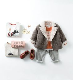 Baby Fashion for Fall - Zara baby boy look Little Boy Fashion, Baby Boy Fashion, Toddler Fashion, Kids Fashion, Newborn Fashion, Baby Outfits, Zara Boys, Fashion Mode, Baby Kids Clothes