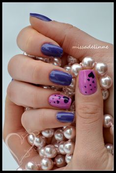 Hearts..on we heart it | See more nail designs at http://www.nailsss.com/acrylic-nails-ideas/3/