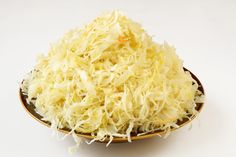 Sauerkraut: Sauerkraut is pretty much the king of probiotics. The live culture count of store-bought probiotics does not compare to naturally fermented sauerkraut. Vegetarian Cabbage, Vegan Vegetarian, Dairy Free Recipes, Healthy Recipes, Nutrition, Fermented Foods, Fermented Cabbage, Perfect Food, A Food