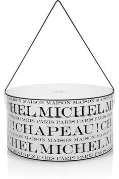 Maison Michel hat box
