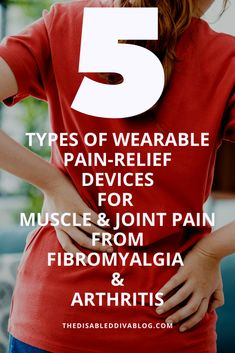 Don't wait until you get home to relieve muscle & joint pain from fibromyalgia & arthritis! Relieve pain anywhere with these wearable pain relief devices. Psoriatic Arthritis Symptoms, Endometriosis Pain, Autoimmune Arthritis, Chronic Pain, Chronic Illness, Nerve Pain, Chronic Fatigue Syndrome, Muscle Pain, Pain Relief