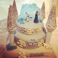 Disney Frozencake for Emma 7. ❄
