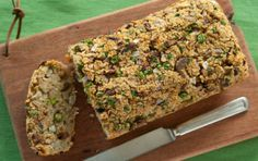 Quinoa loaf with mushrooms