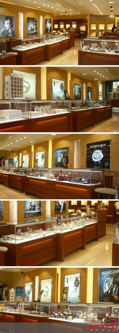 Freeport Jewelers. Manufacture & Design of Store Fixtures by Artco Group.