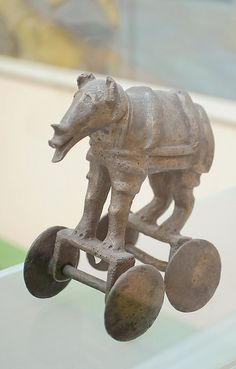 Bronze Animal Figure_2, Harappan Civilization, 2500 - 2000 BC | Flickr - Photo Sharing!