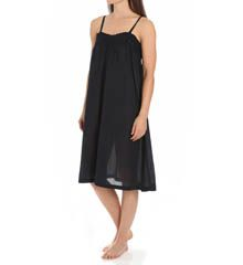 $87 - Thea Talis Cotton Voile Knee Length Gown