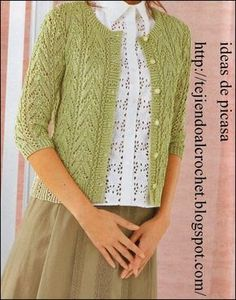 Alexandria Cardigan pattern by Connie Chang Chinchio Easy Knitting Patterns, Knitting Stitches, Cardigan Pattern, Knit Cardigan, Crochet Coat, Knitting For Beginners, Sweaters For Women, Google, Fashion