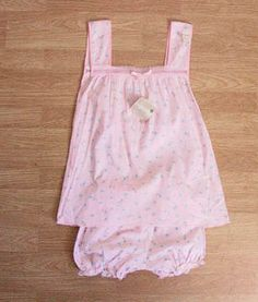 Babydoll Pajamas - I can still remember wearing them on a warm summer night with just the attic fan to keep us cool.