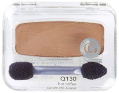 CoverGirl Queen Collection Eye Shadow - Hot Toffee Vibrant shade singles to help you create smoldering eye looks; Matte, pearl and sparkling shades; Eyebrow Makeup, Toffee, Covergirl, Blush, Kit, Queen, Eyes, My Favorite Things, Stay True