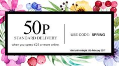 Standard Delivery when you spend or more online. Take advantage of the special offer only available for a limited time! Birthday Presents For Mum, Mum Birthday, Burton On Trent, Avon Brochure, Avon Online, Avon Products, Avon Representative, Present Gift, Mothers